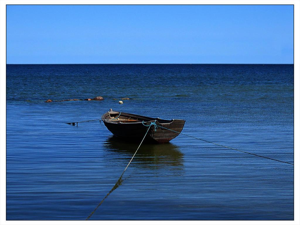 boat by Baikal