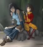 Korra and Jinora