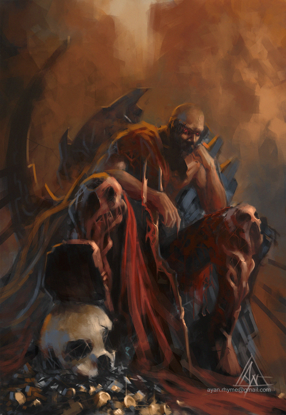 Hades - The Ruler of the Underworld by crazypalette on ...
