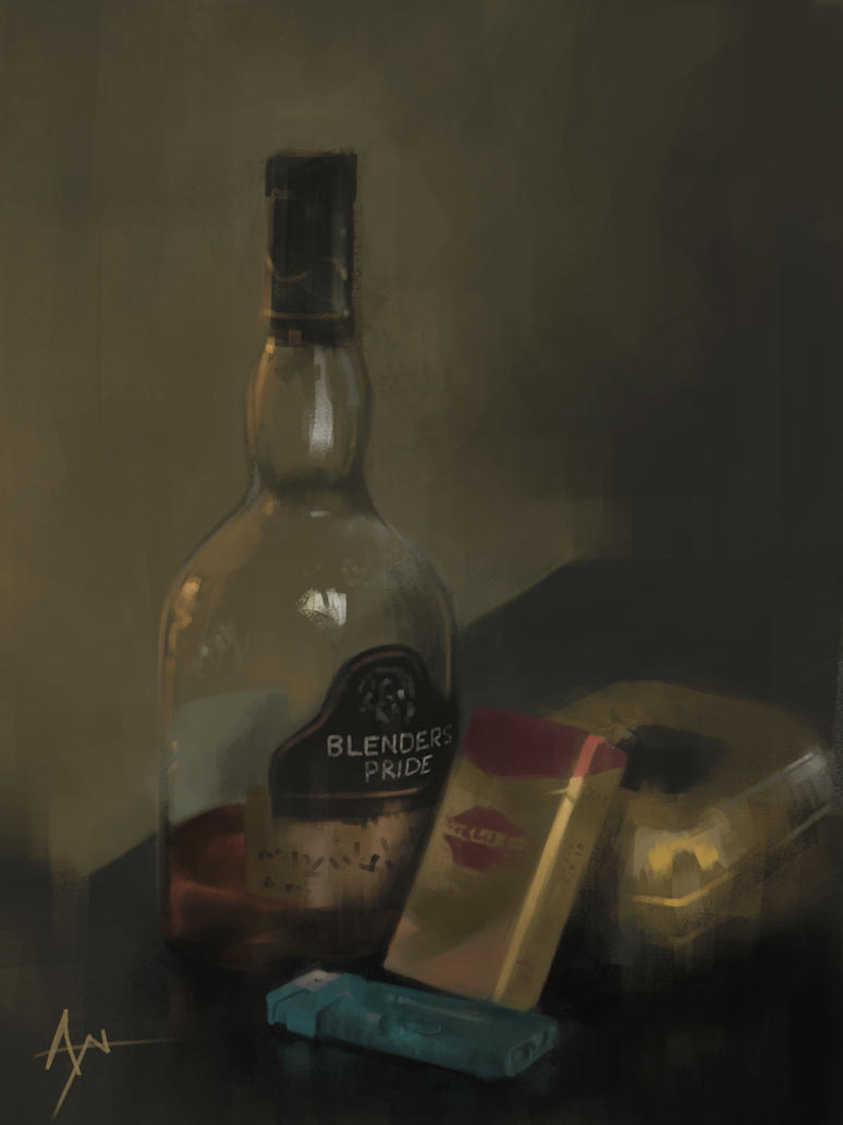 Still Life 1 by crazypalette