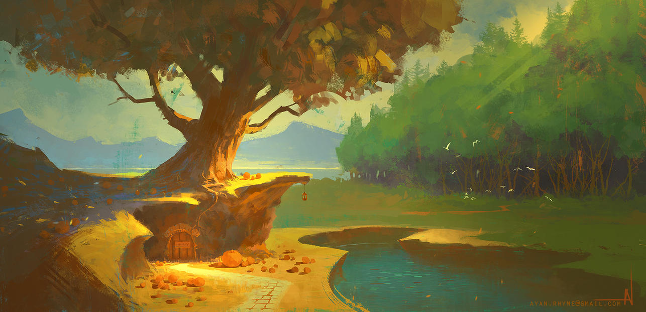 Tree House by crazypalette