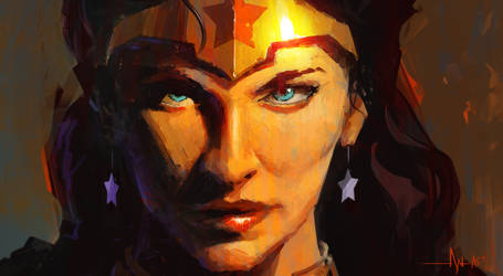 Wonder Woman by crazypalette