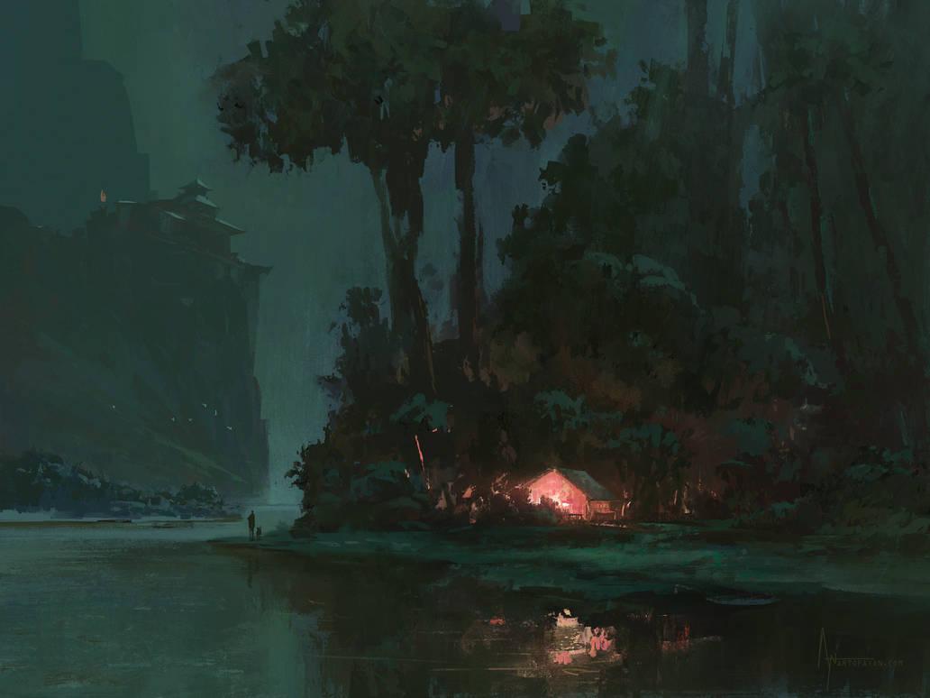 Moonlit Shrine
