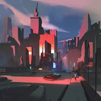 City Graphic style exploration