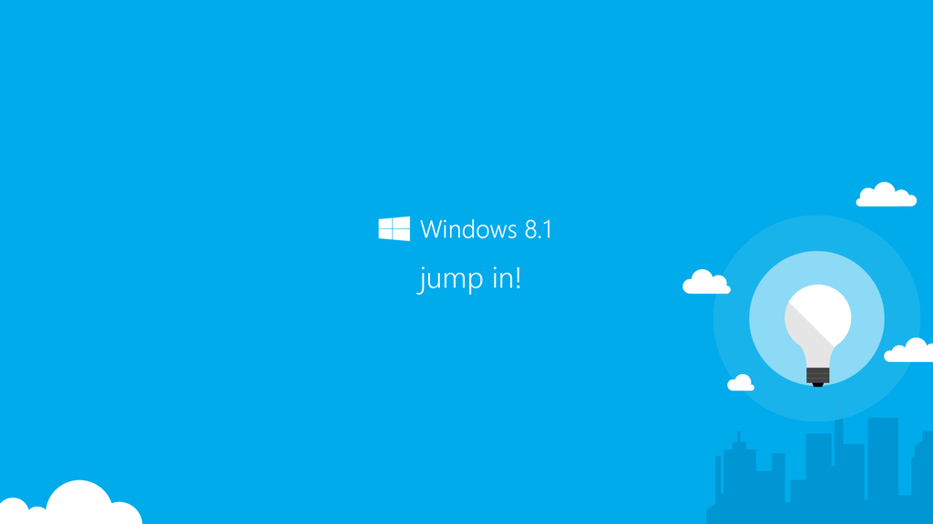 Windows 8.1 - Jump In Wallpaper by NoFearl on DeviantArt