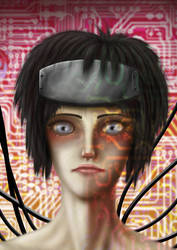 digital : ghost in the shell Kokaku face 2015