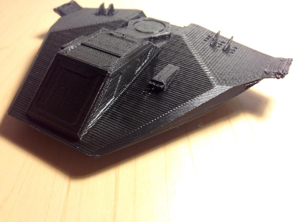 3D Model X-27 Falcon (EC, Front) by Viktor-Grizz-Gavorn