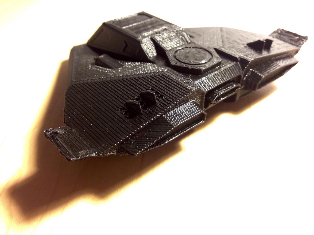 3D Model X-27 (EC, Rear) by Viktor-Grizz-Gavorn