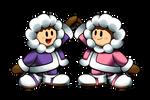 'Mario + Luigi' RPG Style: Ice Climbers