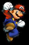 ''Mario + Luigi'' RPG Style: Mario [SSBU POSE]