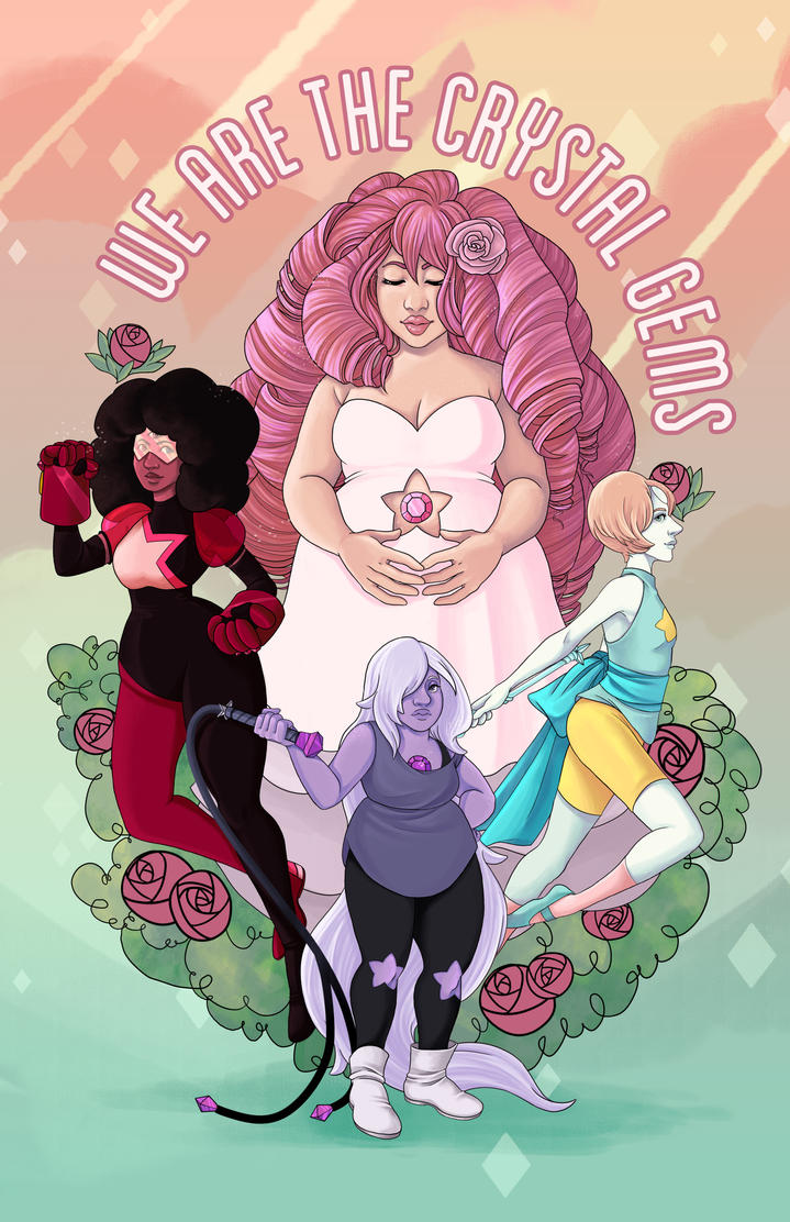 We are the crystal gems by xh3llox