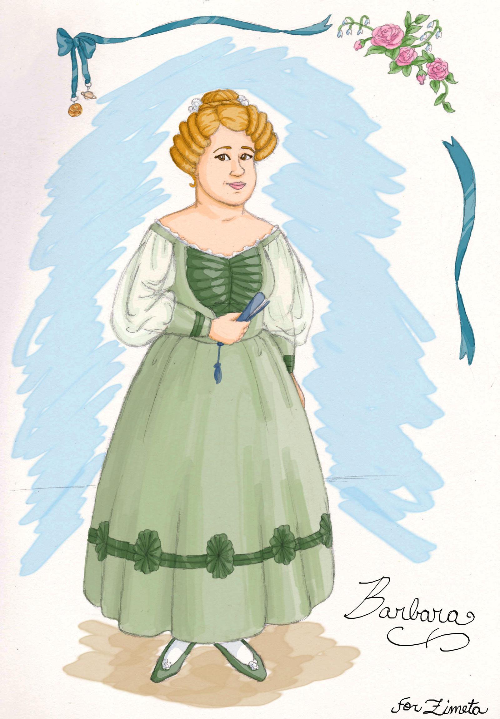 Barbara, for Zimeta by Lantis-Erin