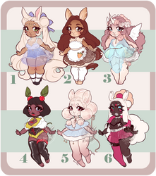 Bunny Day adopts pt.1 [1/6] Open