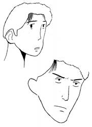 Urasawa expressions by BrentNewhall