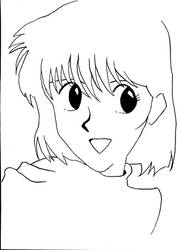 Quick sketch of Noriko by BrentNewhall