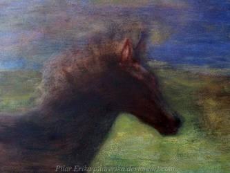 Horse Running- Detail by PilarErika
