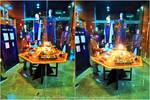 Kwai Chang having fun with Doctor Who's stuff by PilarErika