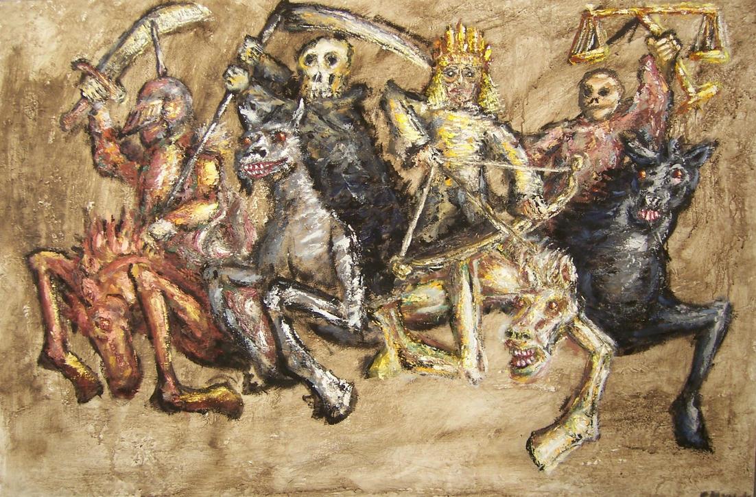 Four Horsemen by Godcharon