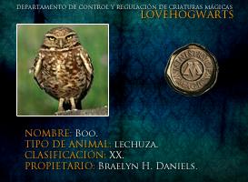 Boo by lovehogwartsweb