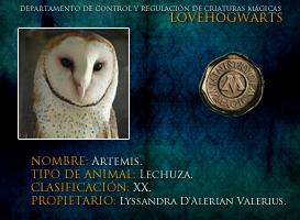 Artemis by lovehogwartsweb