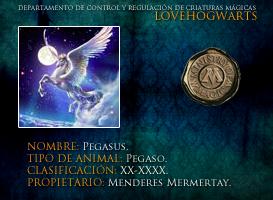 Pegasus by lovehogwartsweb