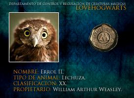 ErrolII by lovehogwartsweb