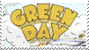 Green Day Dookie Stamp