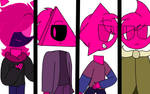 The pink corruption team