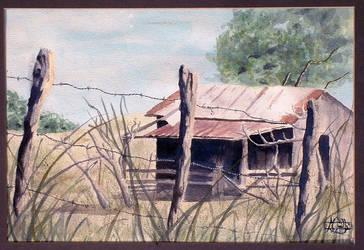 Barn on a Farm by chachi54