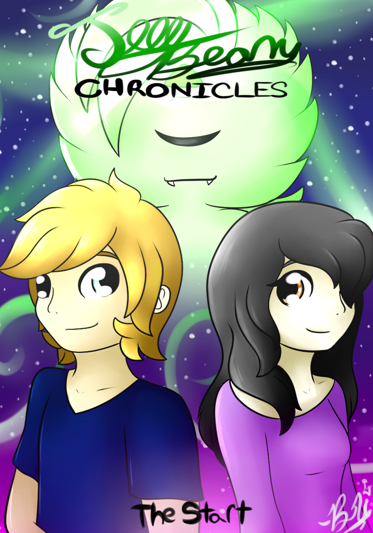 The Jelly Bean Chronicles - cover by BriannaTheWolf599