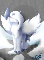 Prophet of Disasters - Mega Absol by BriWolfie