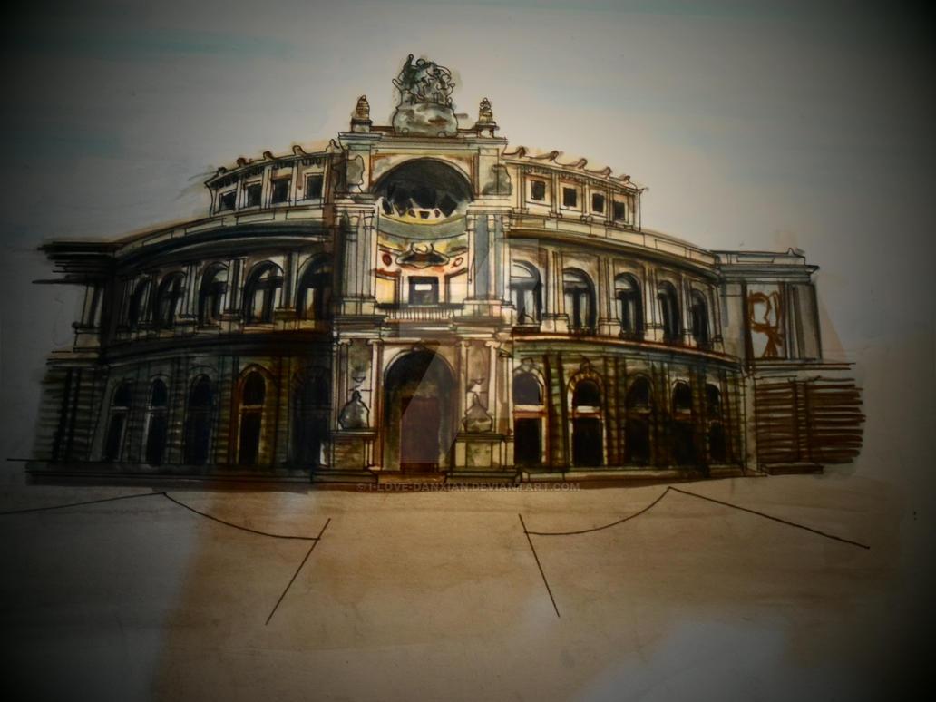 Midterm Plate 2014 - Renaissance Architecture by i-love-danxian