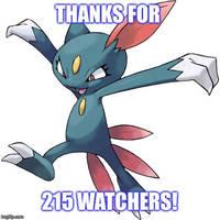 215 thanks