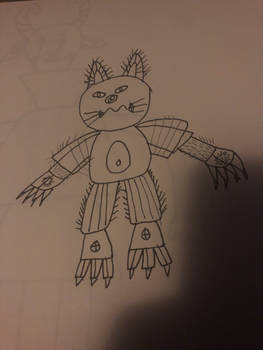 Random Cat Monster 1
