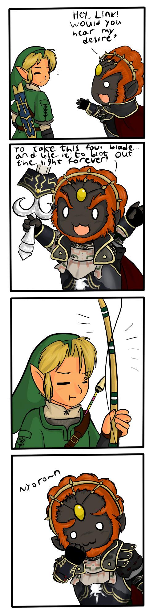 Zelda TP- Nyoro~n by Bjekkergauken