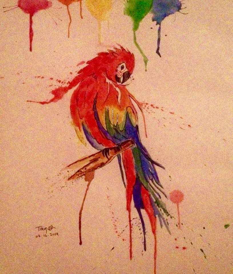 Parrot by adiga45