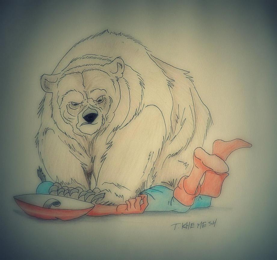 Bear Attack by adiga45