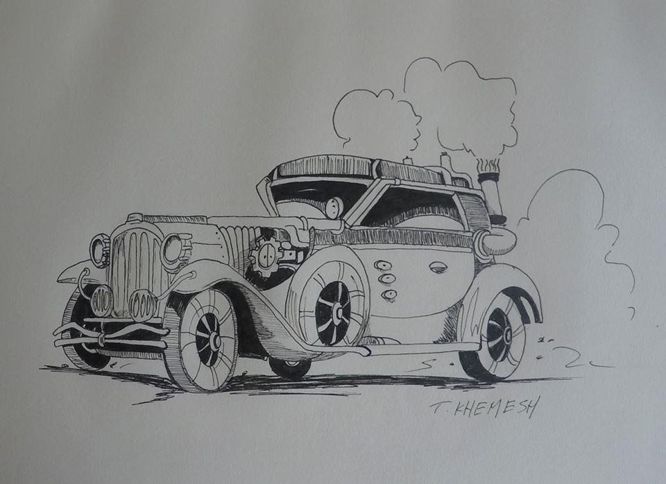 Classic car by adiga45