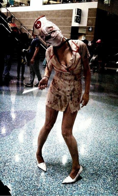 Silent Hill Nurse Comikaze 2013 by InkIsMyPassion