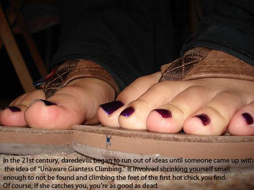 Young teacher footjob flats and bare feet 5