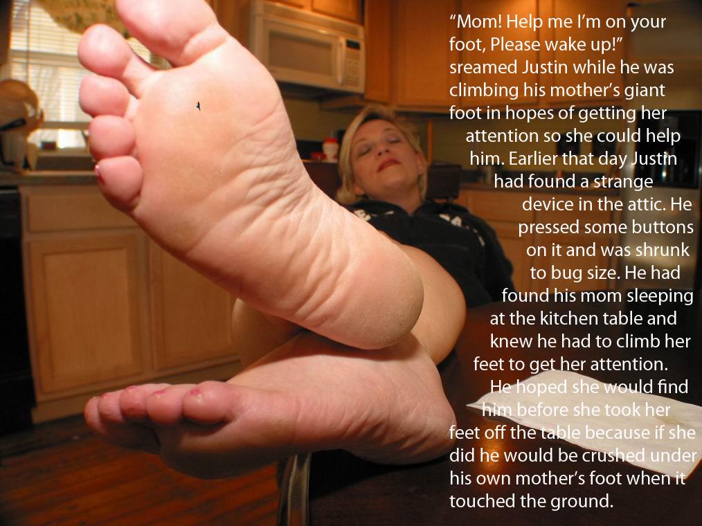 mom foot fetish