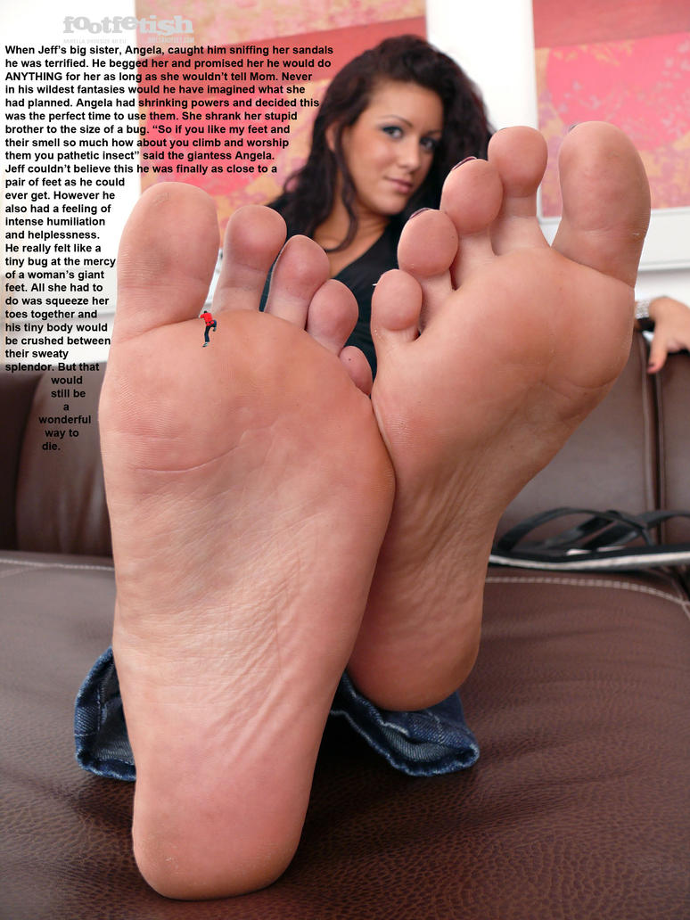 Amazon feet slave and blonde brutal gang 6