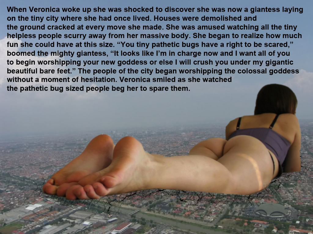 domination foot story