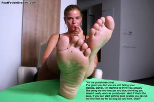 Stepmom's Feet Deal by youranus32
