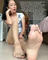 Landlady's Toering Slave by youranus32