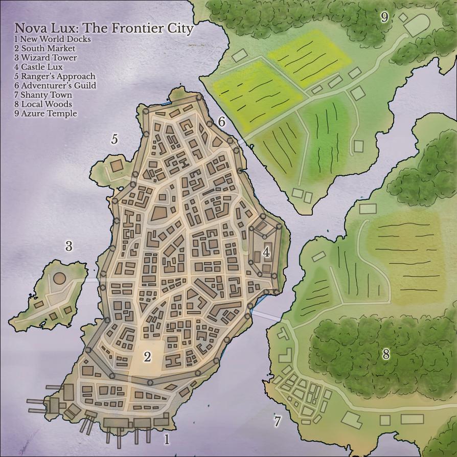 Nova Lux: The Frontier City by ConfusedTotoro