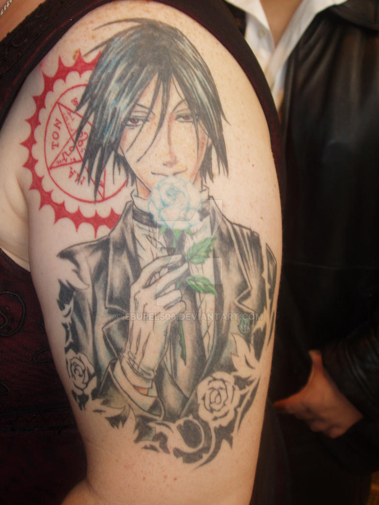 Black Butler Tattoo by eburel506 on DeviantArt