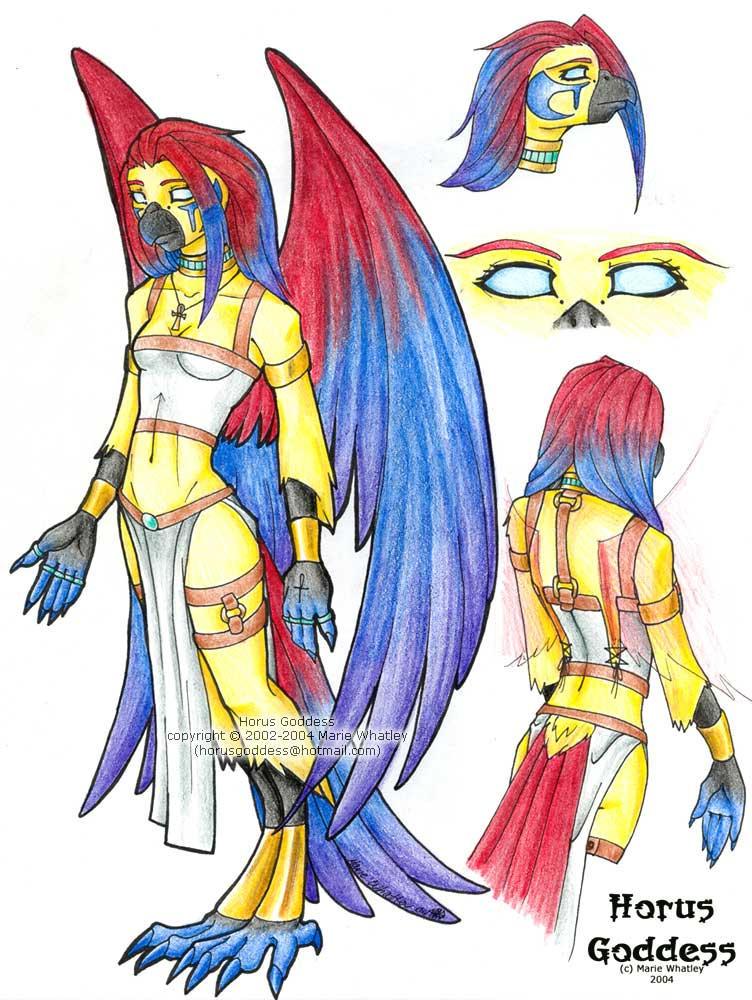 Horus Goddess - reference by Horus-Goddess