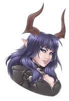 Rogue Castanic by Horus-Goddess