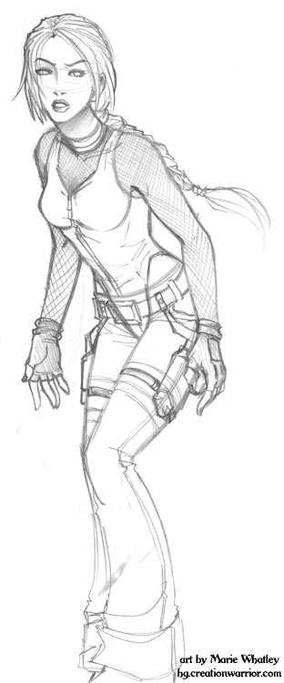 ArtDump- Random Lara by Horus-Goddess